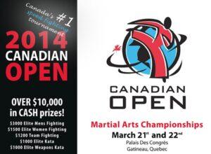 Compétition Canadian Open 2014